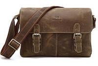 Сумка мужская Vintage 14083 через плечо Коричневая, Коричневый, фото 1