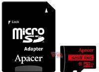 Карта памяти microSDHC Apacer 32GB UHS-I U1 Class 10 (R85 MB/s) + SD-adapter, фото 1