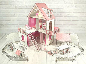 Будиночок для ляльок ЛОЛ з меблями і текстилем