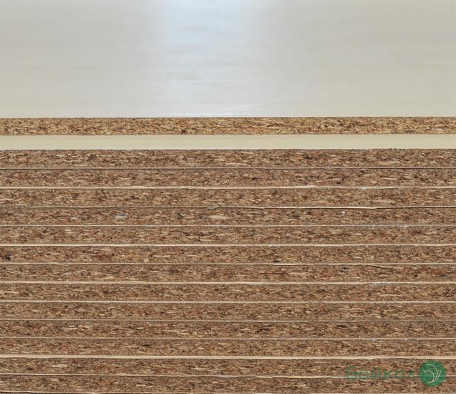 ДСП шпонированная Буком 19 мм А/Асом 2,80х2,07 м