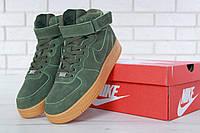 Мужские зимние кроссовки Nike хаки реплика ( Артикул   ДОК   11632) ba709a75401