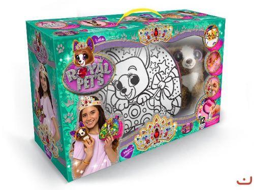"""Набор для творчества """"ROYAL PET'S"""", сумочка-раскраска + игрушка """"Собачка"""""""