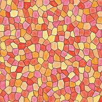 Самоклейка, мозаика, яркая, оранжевый, желтый, красный,  витраж, dc-fix, германия, 67,5 cm