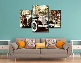 Модульная картина, холст, Авто, 60x90см.  (40x25-2/60x35), фото 2
