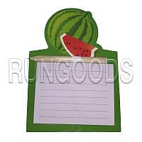 Блокнот для записей Шопинг лист на магните с карандашом