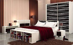 Спальня комплект з ДСП/МДФ Горизонт (базовий комплект) Matroluxe