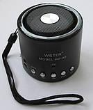 Портативный плеер колонка WS-A8, фото 3
