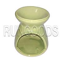 Аромалампа керамическая со свечкой и маслом