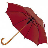Рекламный зонт-трость полуавтомат, 9 цветов, с нанесением логотипов, для подарка и в рекламных целях