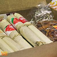 Подарунковий набір Сухий фрукт 4 - пастила і абрикоси