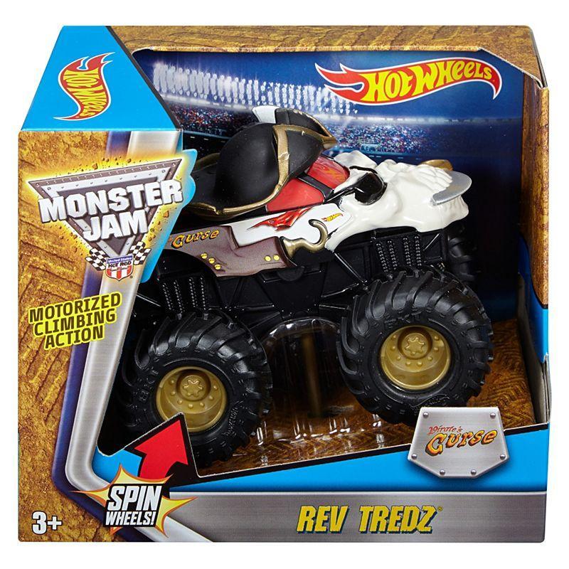 Инерционная машинка Hot Wheels™ Monster Jam CURSE