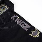 Кимоно для Джиу-Джитсу KINGZ Comp 450 V5 Черное, фото 8