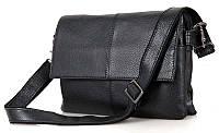 Сумка мужская Vintage 14409 Черная, Черный, фото 1