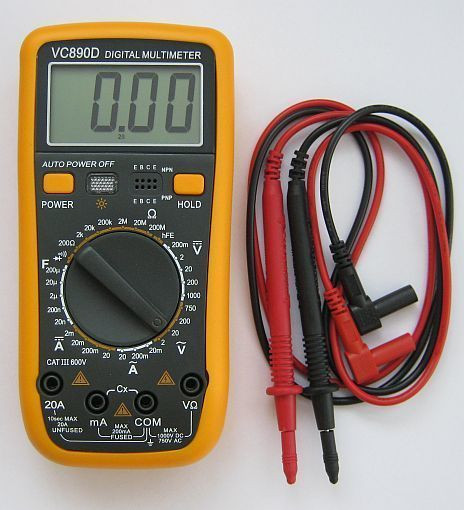 Цифровий мультиметр VC-890D