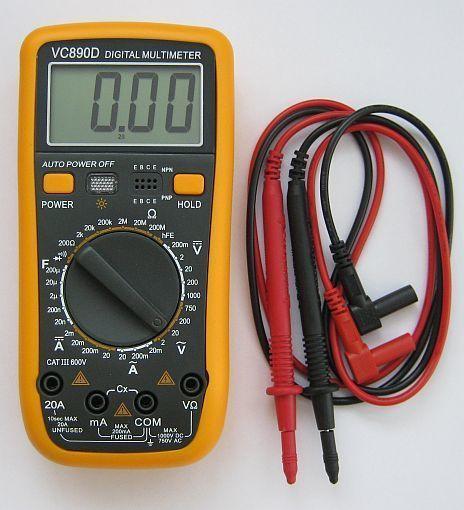 Цифровой мультиметр VC-890D