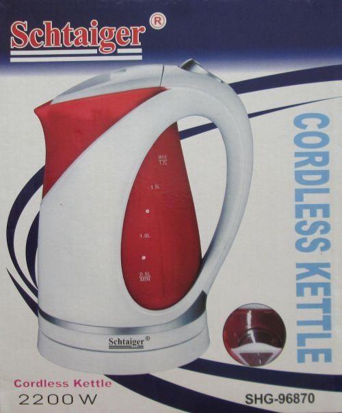 Чайник електричний Schtaiger Shg-96870