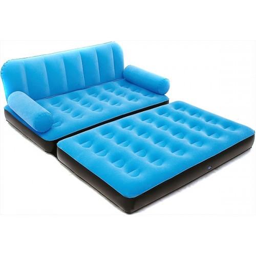 Надувной диван трансформер Bestway 67356 с насосом Blue