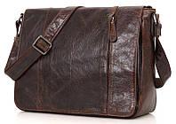 Сумка мужская Vintage 14425 Коричневая, Коричневый, фото 1
