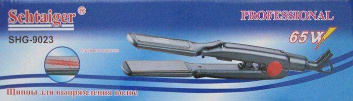 Утюжок для волос Schtaiger Shg-9023 с титановым покрыетием