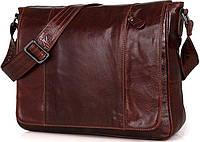 Сумка мужская Vintage 14453 Коричневая, Коричневый, фото 1
