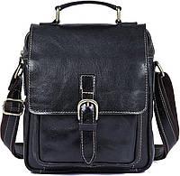 Сумка мужская Vintage 14458 Черная, Черный, фото 1