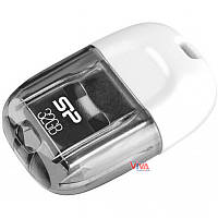 USB флешка Silicon Power Touch T09 32 GB White, фото 1