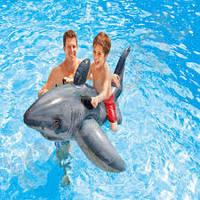 Надувной плотик- акула Intex 57525