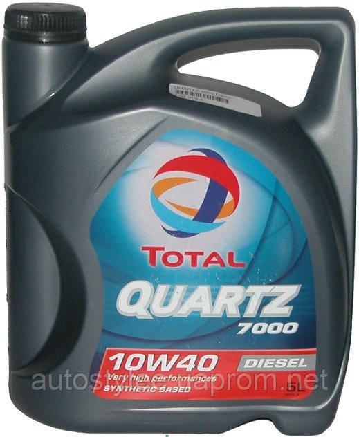 Масло моторное Total Quartz 7000 Diesel 10W-40 5 л.