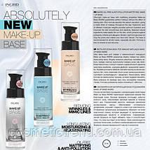 База під макіяж Заповнювач мімічних зморшок Ingrid Cosmetics Make-Up Base Reducing Wrinkles&Міміс30мл Польща, фото 2