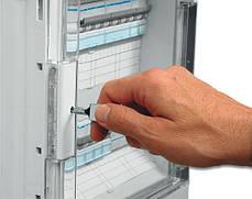 Щит розподільчий на 54 (60) мод., накладного монтажу з прозорою дверцятами, IP65, VECTOR (Hager), фото 3