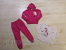 Трикотажні костюми для дівчаток, Seagull, 4-12 рр, фото 3