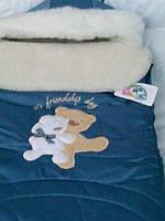 Зимний конверт с шапочкой   для новорожденного 68 Гарден  Беби., фото 1
