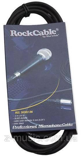 Кабель микрофонный 30303 D6, 3 метра