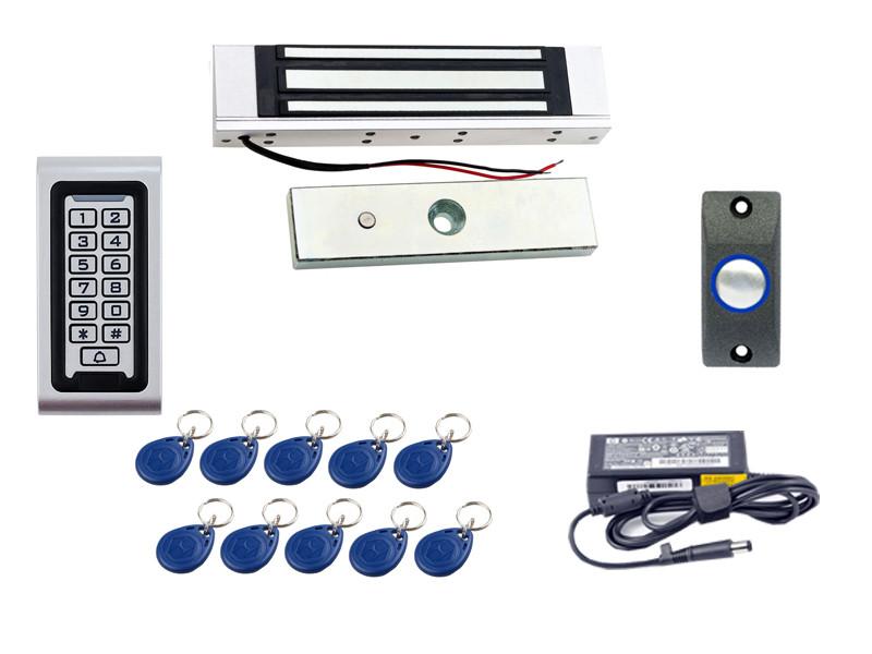Купить Комплект контроля доступа с электромагнитным замком на 180 кг ... cc3e86a0db28c