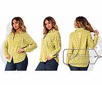 7ee8a1a9ca8 Рубашка свободная из батиста с рукавами на патиках и нагрудными карманами  на молниях X5102