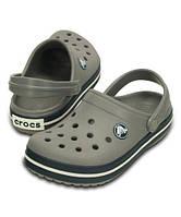 Crocs детские c6 с9 EUR 24-26 серые Кроксы оригинал новые клоги