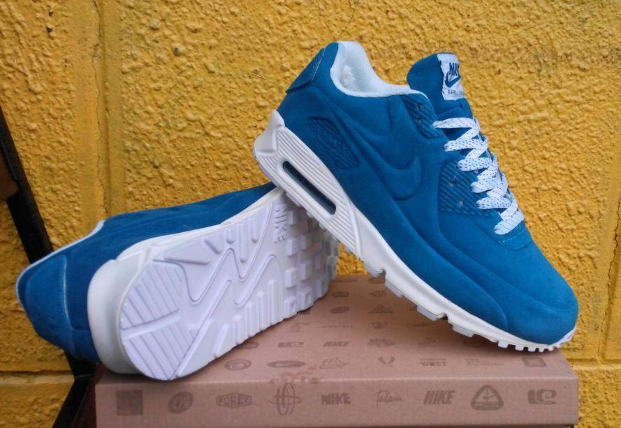 218c4632 Мужские зимние кроссовки Nike голубые реплика ( Артикул : ДОК-10855 ) ,  цена 3 300 грн., купить в Киеве — Prom.ua (ID#837522262)