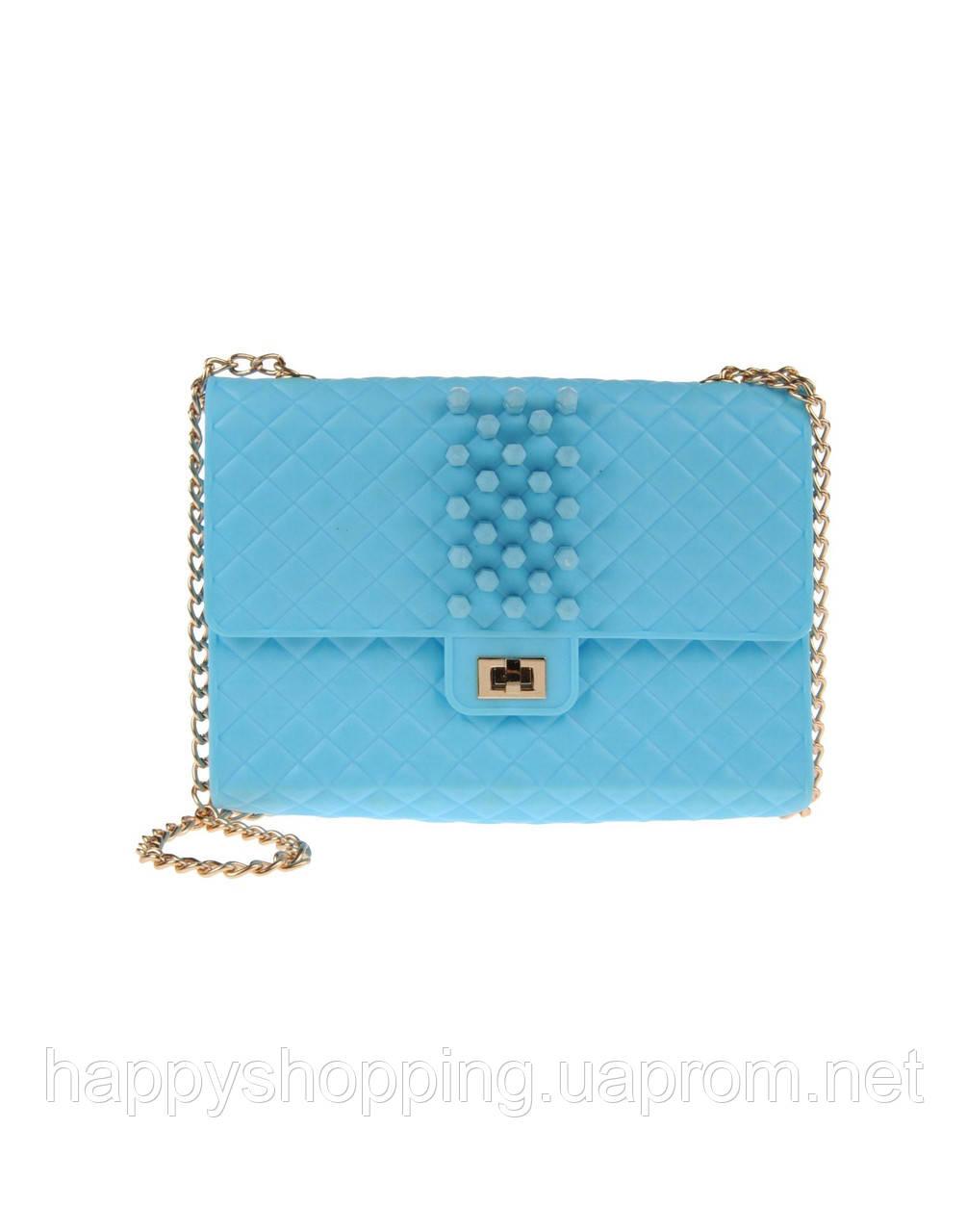 Голубая сумочка DUE DI PICCHE, фото 1