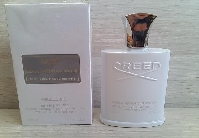 Чоловіча туалетна вода Creed Silver Mountain Water , 120 ml. (репліка )