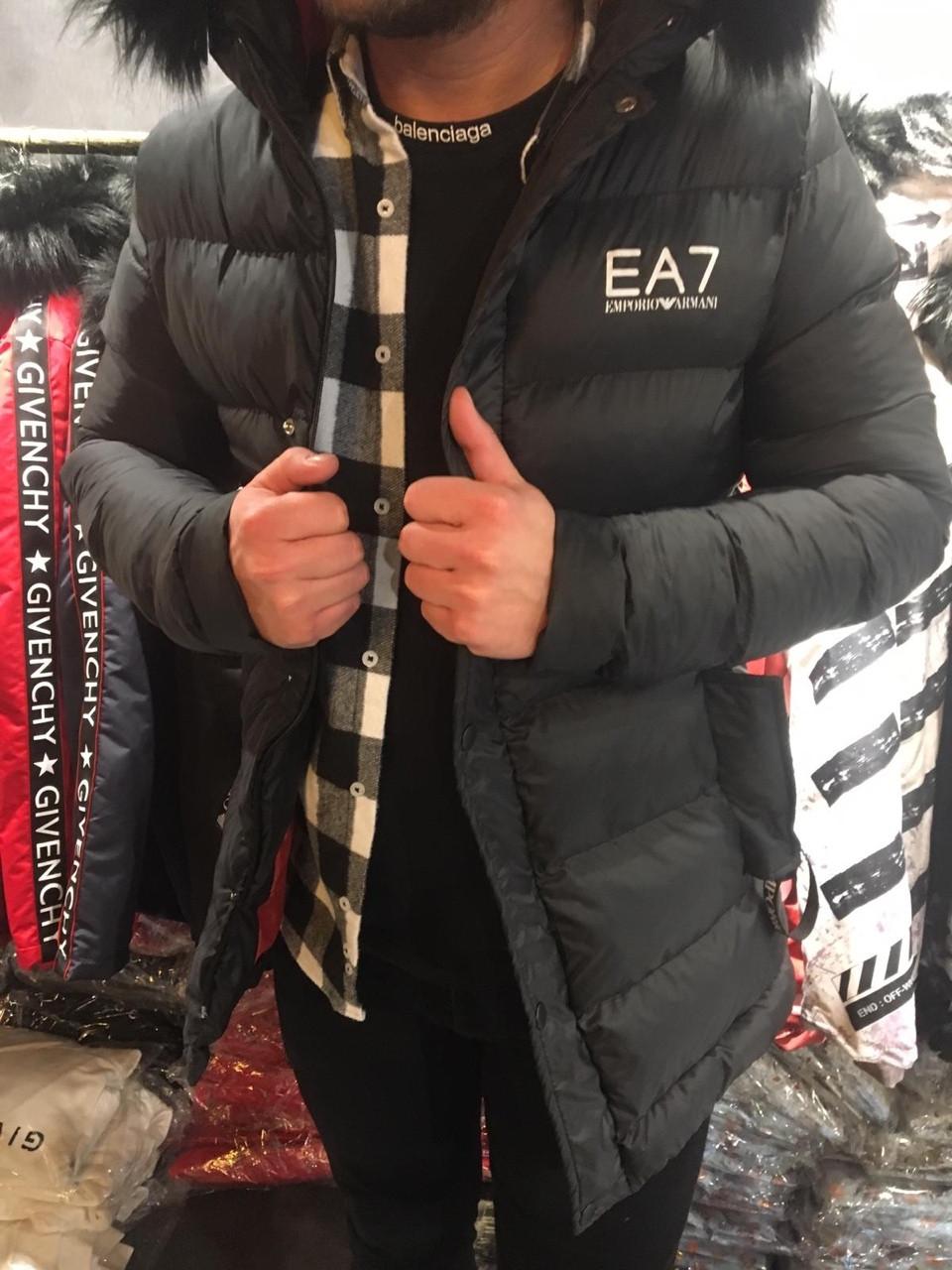 Зимняя куртка Armani , Реплика