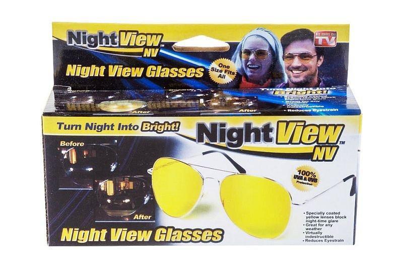 Антибликовые очки ночного видения Night View Glasses