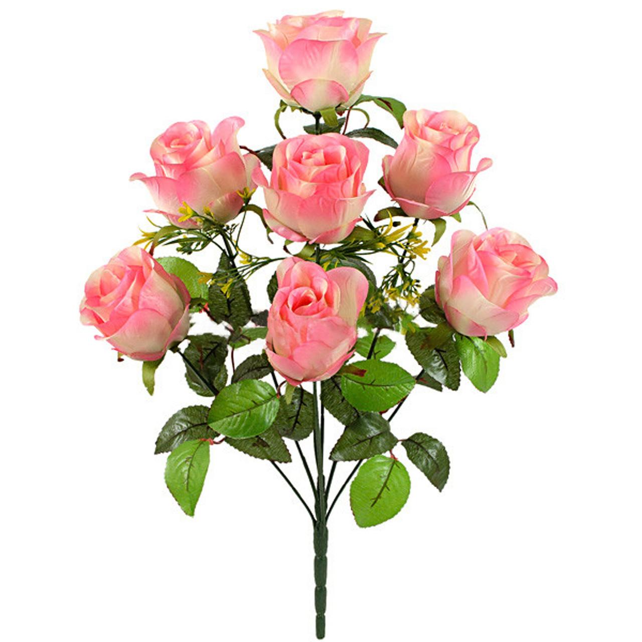 Букет атласных бутонов роз Max, 57см