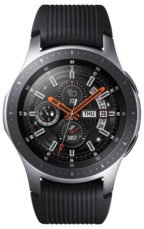 Смарт часы Samsung Galaxy Watch 46mm Silver (SM-R800NZSASEK)