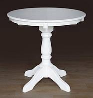Стол обеденный Чумак круглый (белый)