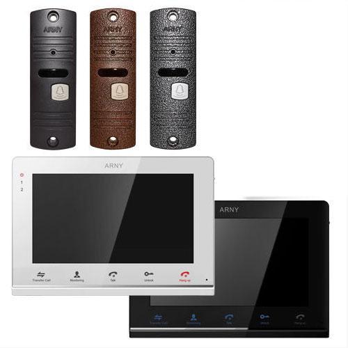 Arny AVD-710MD+AVP-05 комплект домофона с памятью