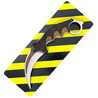 "Нож деревянный ""Керамбит"" из игры Counter-Strike"