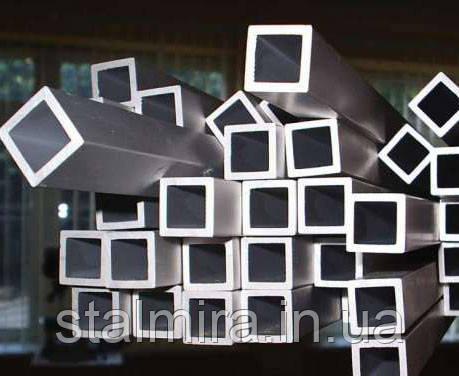 Труба алюминиевая квадратная 15/15, толщина стенки 1,5, марка АД31, Д16Т, АД0, АМг2, АМг3, Д1