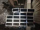 Труба алюминиевая прямоугольная 60/30, толщина стенки 2, марка АД31, Д16Т, АД0, АМг2, АМг3, Д1, фото 4