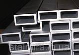Труба алюминиевая прямоугольная 100/20, толщина стенки 2, марка АД31, Д16Т, АД0, АМг2, АМг3, Д1, фото 3