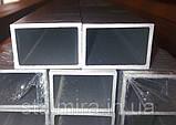 Труба алюминиевая прямоугольная 100/20, толщина стенки 2, марка АД31, Д16Т, АД0, АМг2, АМг3, Д1, фото 4